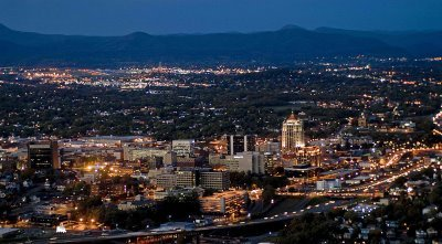 Roanoke Skyline