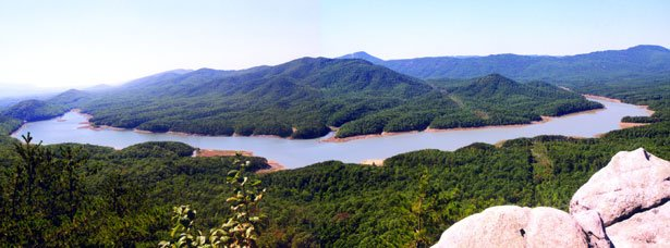 Carvins Cove Reservoir
