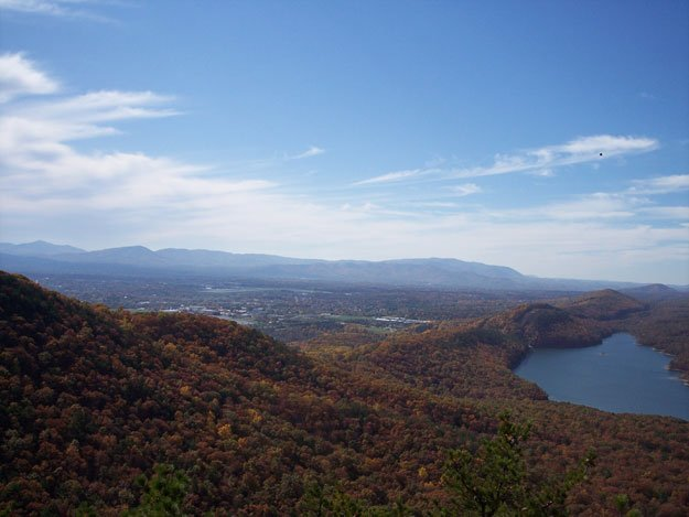 Carvins Cove Reservoir