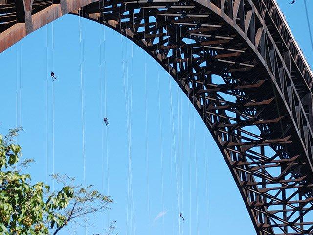Bridge Day in Fayetteville, W.Va.