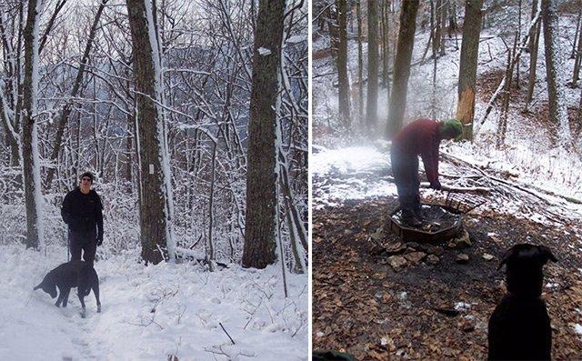Hiking the Appalachian Trail in Winter