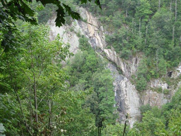 Bent Mountain Falls