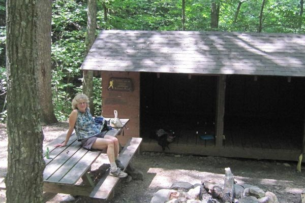 Boblett's Gap Shelter