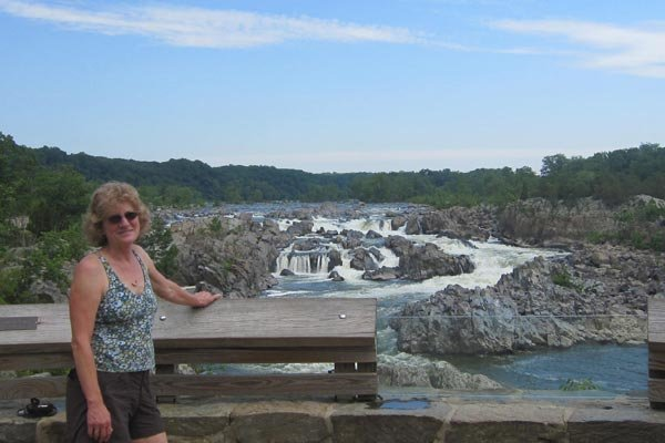 The Potomac River in Great Falls Park