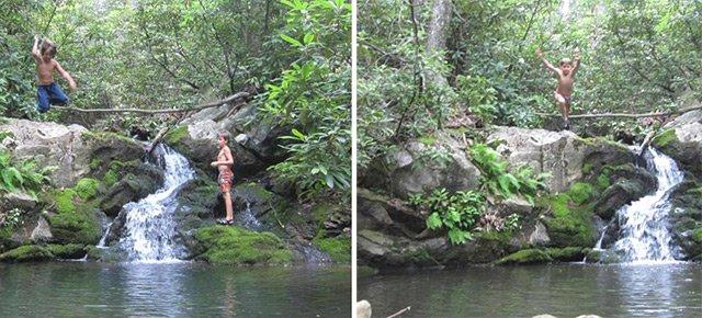 Swimming Hole Hoop Hike