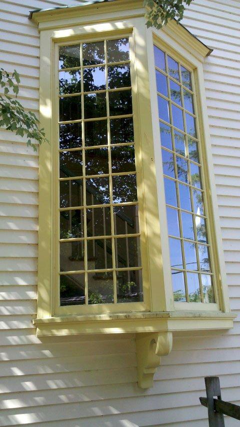 A window at the Inn