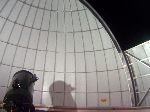 The Primland Resort observatory telescope