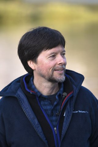 Documentary filmmaker Ken Burns