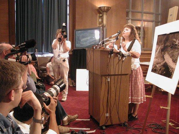 Judy Bonds Press Conference