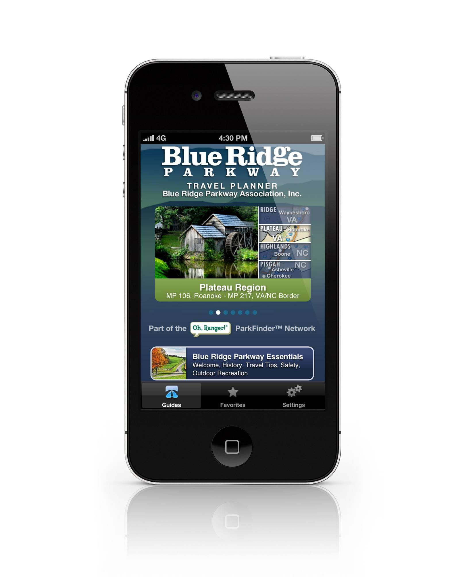 Blue Ridge Parkway Association Launches Mobile Travel App ...