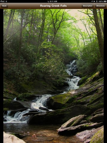 The Waterfalls of Western N.C. - Roaring Creek Falls