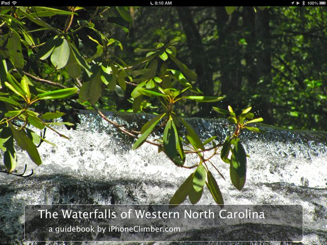 The Waterfalls of Western N.C.
