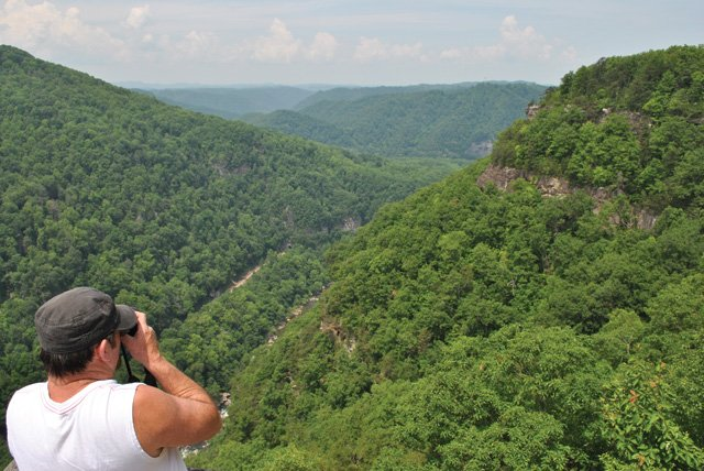 Breaks Interstate Park Overlook