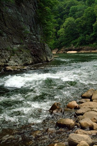 The Russell Fork River