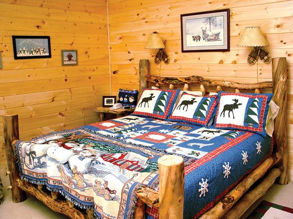 Bedroom at Wagon Wheel