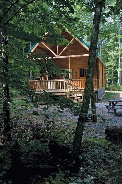 Family-style cabins