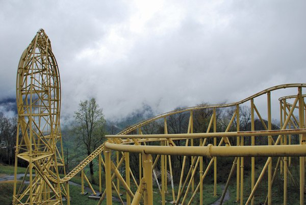 Mountaintop Roller Coaster