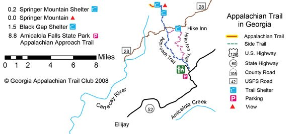 Wait, Walk 8.8 Miles Just to Get to the Appalachian Trail? - Blue ...