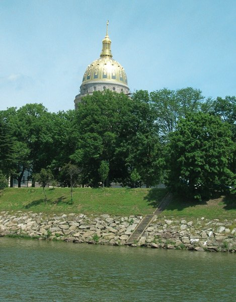 Gold-Capped Capitol Building