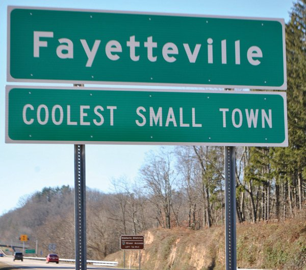 Fayetteville's claim to fame