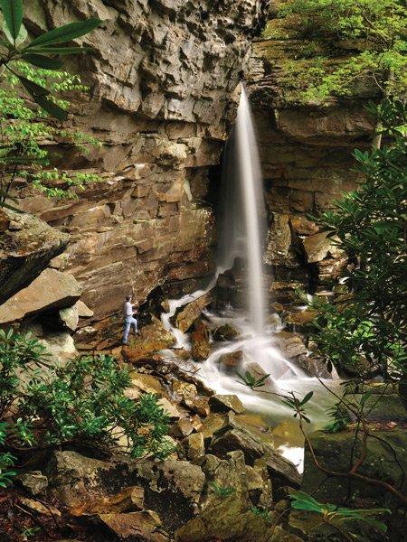 Upper Fern Creek Falls