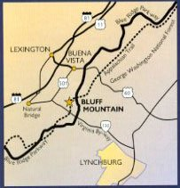 Bluff Mountain Map