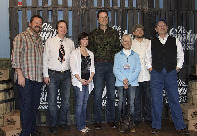 A meet and greet between the Soggy Bottom Boys and fans
