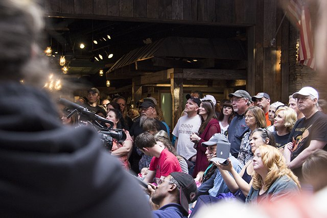 The Soggy Bottom Boys performing live at the Ole Smoky Distillery in Gatlinburg,Tenn.