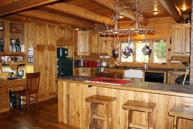 Unique Log Home For Sale In West Virginia