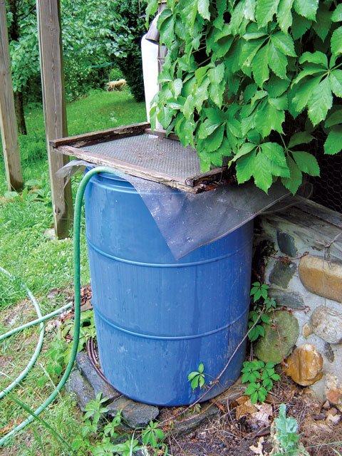 Garden Water Barrels