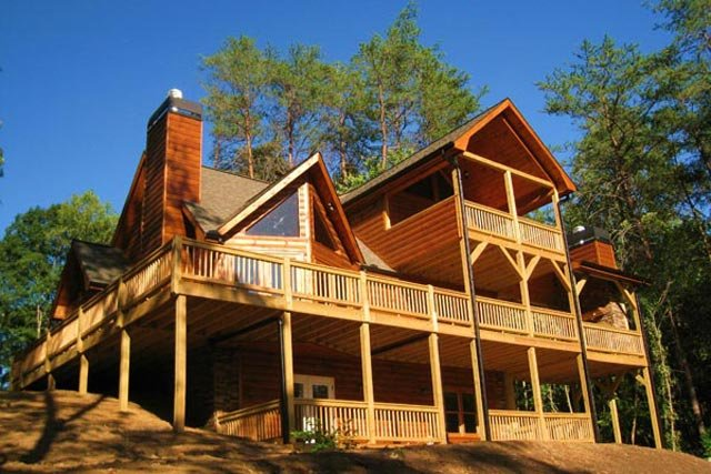 Mountain Top Cabin Rentals In Georgia Blueridgecountry Com