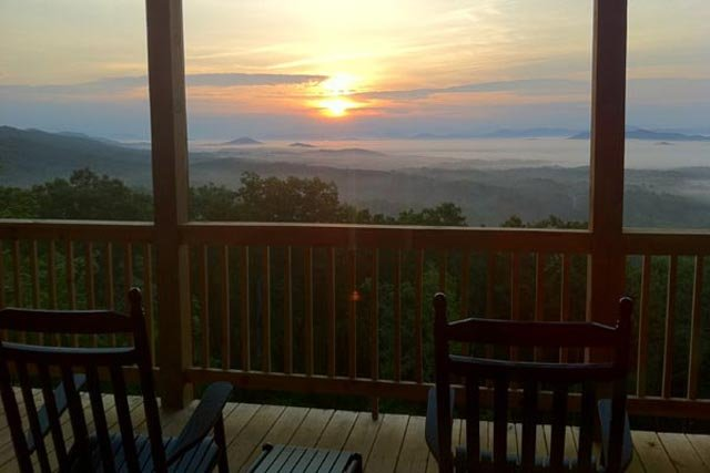 Mountain Top Cabin Rentals: Great Amenities