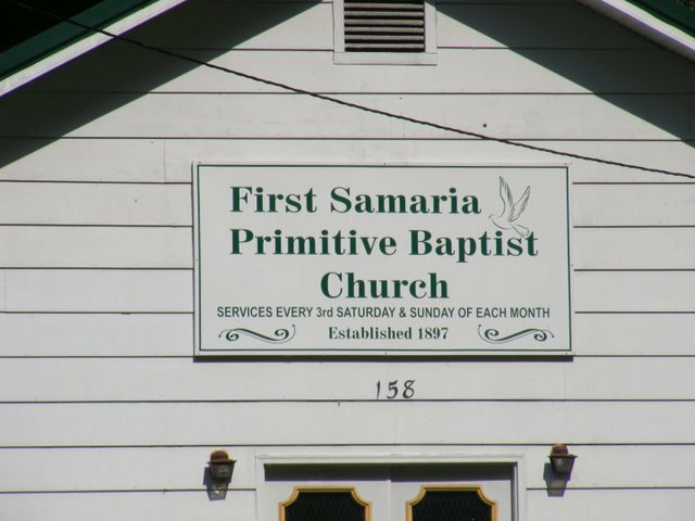 New Samaria Church, Blackberry Creek, KY.