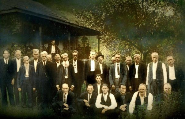 Mates Creek Association Elders, circa 1925.