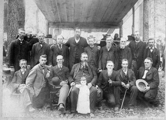 Mates Creek Association Elders, circa 1900