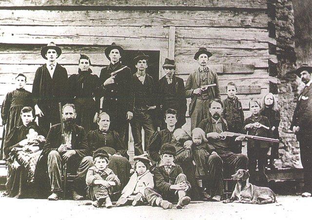 The Hatfield Clan in 1897