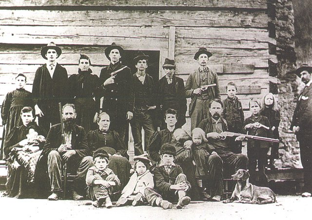 The Hatfield Clan in 1897