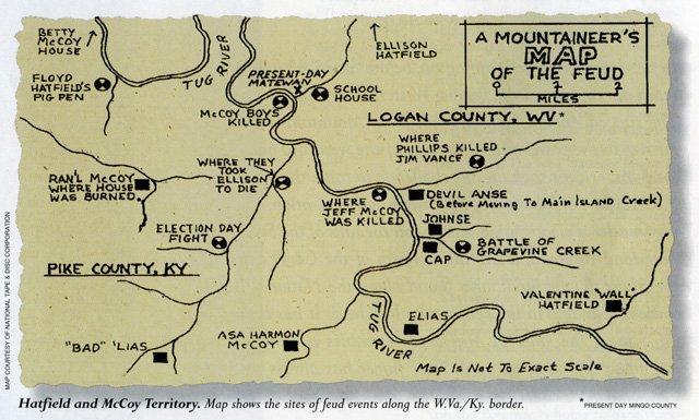 Hatfield & McCoy Territory