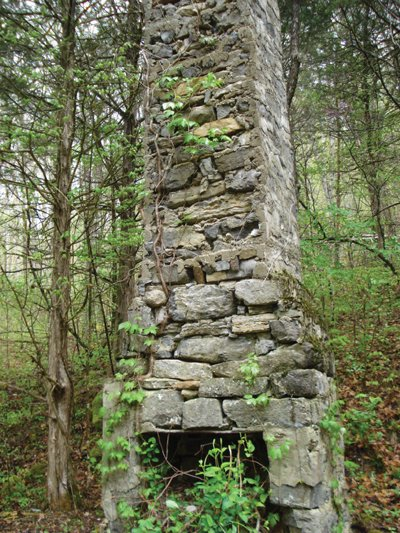 The old stone chimney for Stone chimneys