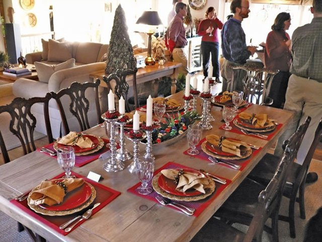 Holiday Dinner Table