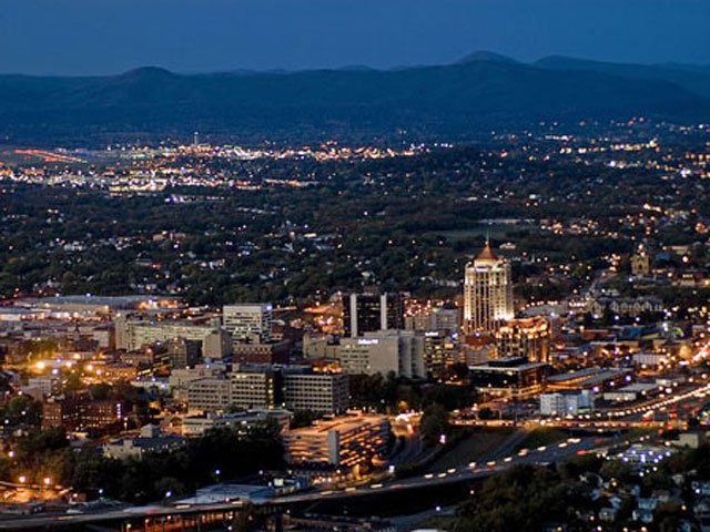 Roanoke Valley Skyline
