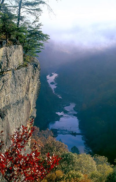 The Angel Falls area