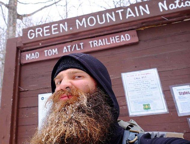"Tom Gathman, a.k.a. ""The Real Hiking Viking"""