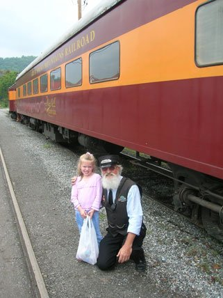 Great Smoky Railroad Conductor