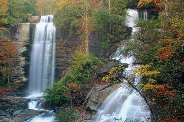 Twin Falls in South Carolina