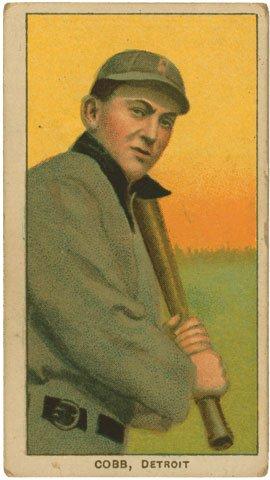 Ty Cobb Baseball Card