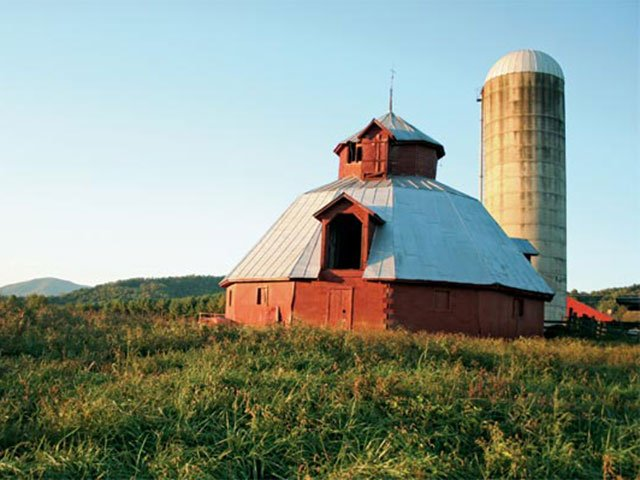 The Round Barns of Madison County