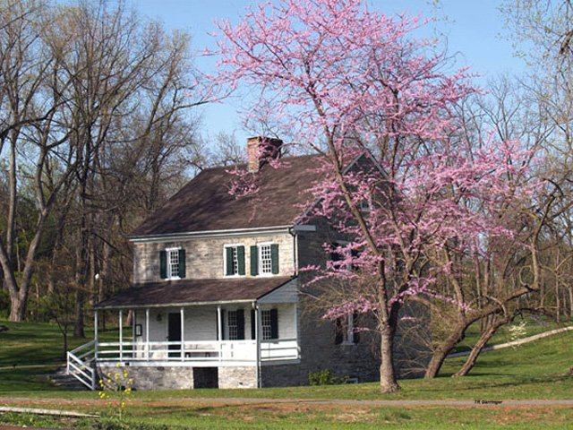 Home of Jonathan Hager and his wife Elizabeth Kershner