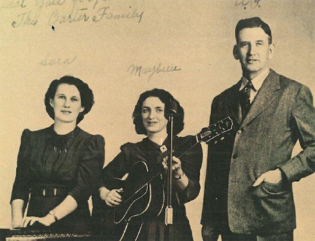 The original Carters in 1938.