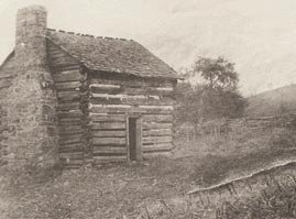The cabin of William and Mary Draper Ingles
